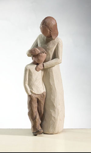 Willow Tree® sculptures from DEMDACO - Mother & Son
